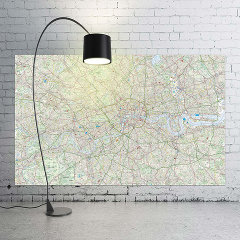 Giant London Street Map