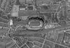 Post-War 1947 London Aerial Map - Sheet 1 - Wembley