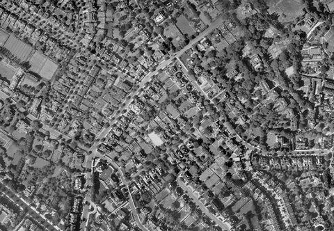 Post-War 1947 London Aerial Map - Sheet 3 - Camden
