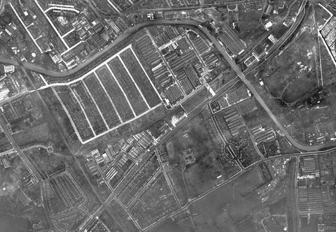 Post-War 1947 London Aerial Map - Sheet 6 - Alperton