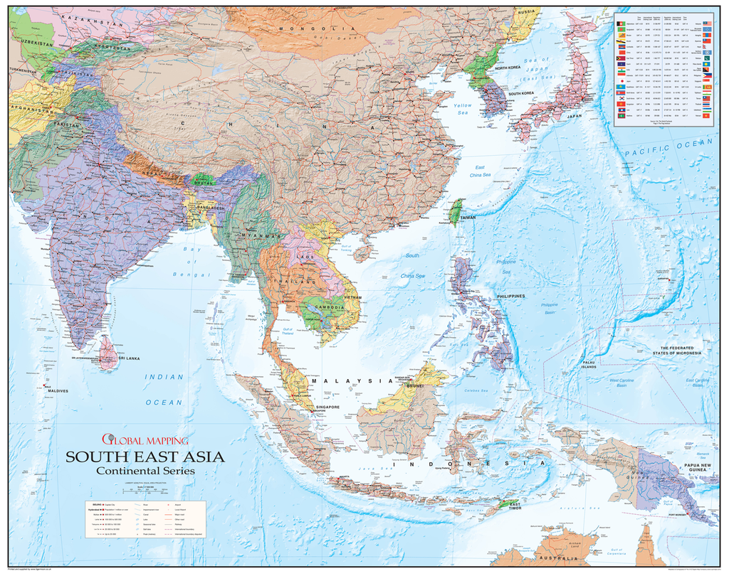 Picture of: South East Asia Map I Love Maps