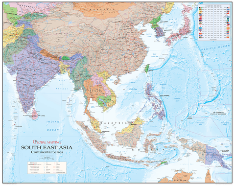 South East Asia Map
