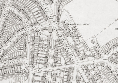 London 1872 Ordnance Survey Map - Sheet XV - Belsize Park