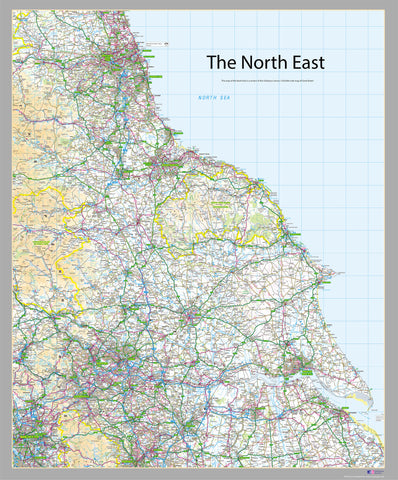 The North East Map