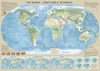 Education Map Set - Set of 3 Maps - Tectonics and Structure, Great Discoveries, Fascinating Facts 3 x maps 100cm x 70cm