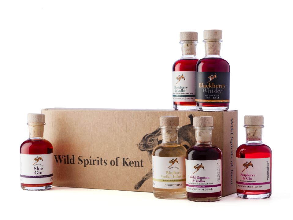 Wild Spirits Of Kent Gift Set