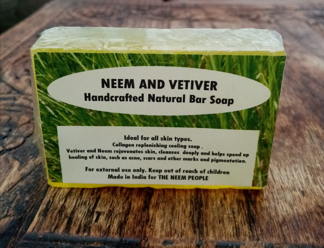 Neem and Vetiver Soap