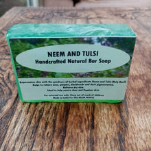 Load image into Gallery viewer, Neem and Tulsi Soap