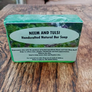 Neem and Tulsi Soap