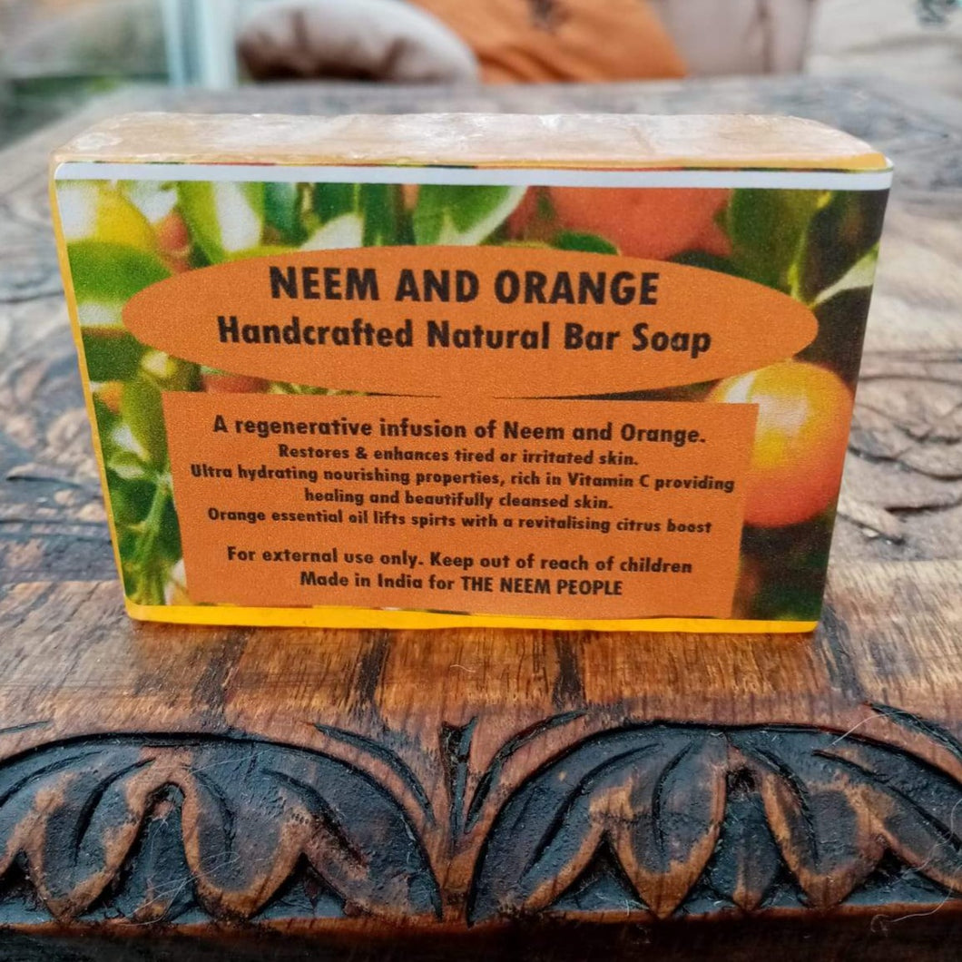 Neem and Orange Soap