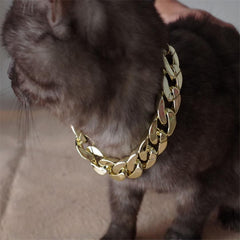 New pet necklace for dogs 1pc  Charm Gold Chain Pet Dog Cat Necklace Collar Pets Accessory CCB 33