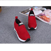 Load image into Gallery viewer, Women's Fashion Autumn Wild Hidden Heel Shoes Slip-on Shoes Casual Shoes