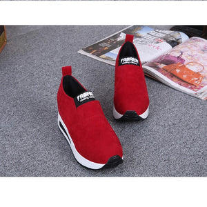 Women's Fashion Autumn Wild Hidden Heel Shoes Slip-on Shoes Casual Shoes