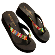 Load image into Gallery viewer, Best Selling Candy Color Leisurely Summer Platform Sandals Beach Flat Wedge Patch Flip Flops Lady Slippers