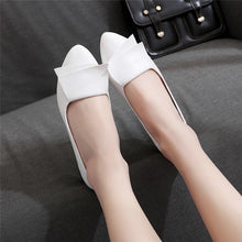 Load image into Gallery viewer, Summer Office Shoes Woman Pumps Wedding Office Dress Pointed Ladies Shoes Leather Slip On Casual Women Shoes zapatos mujer