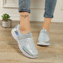 Load image into Gallery viewer, Size 36-42 Women Breathable Sports Shoes Anti-skid Sport Walking Shoes Outdoor Flats Autumn Winter Female Light Loafers Shoes