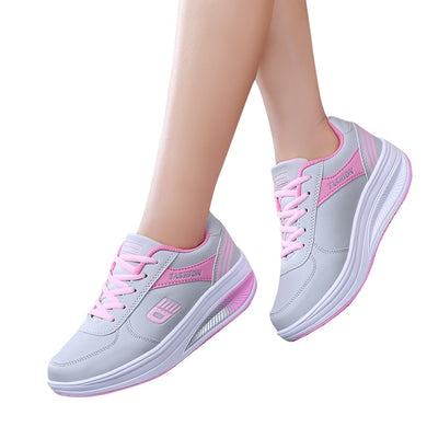 YOUYEDIAN Fashion Women Heightening Soft Bottom Rocking Shoes Sneakers Student Shoe sapatilhas mulher sapatilhas normais #G30