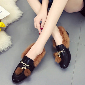 Xiniu Hot Sale Fashion Women's Tassel Shoes Anti-Slip Flat-with Ankle Boots Botines Mujer 2018