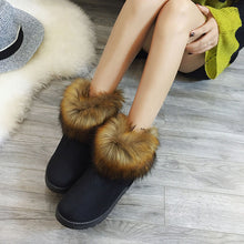 Load image into Gallery viewer, Women's Ladies Winter Ankle Martin Snow Bootie Short Boots Footwear Warm Shoes