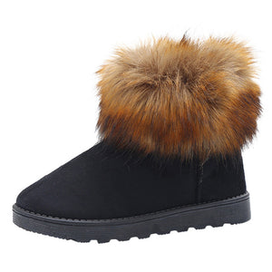 Women's Ladies Winter Ankle Martin Snow Bootie Short Boots Footwear Warm Shoes