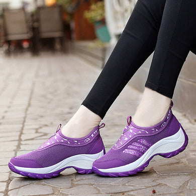 YOUYEDIAN Women Sneakers 2018 Casual Shoes Autumn Fashion Breathable Letter Running Female Platform Sneakers Zapatillas Mujer