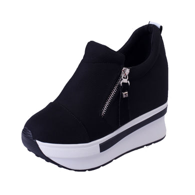 shoes woman Platform  Slip On sneakers women platform sneakers ladies shoes zapatos de mujer