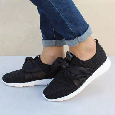 YOUYEDIAN Sneakers Women 2018 Spring Mesh Bow Patform Women Sneakers Breathable Women Casual Shoes Chaussures Femme