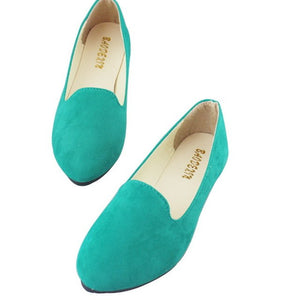 LASPERAL Plus Size Shoes Women Flats Candy Color Woman Loafers Spring Autumn Flat Shoes Women Zapatos Mujer Summer Shoes 35-42