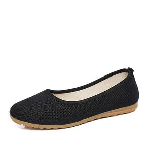 Ballet Loafers Women Breathable New Fashion Designer Female Lazy Shoes Summer Women Flats AA20489