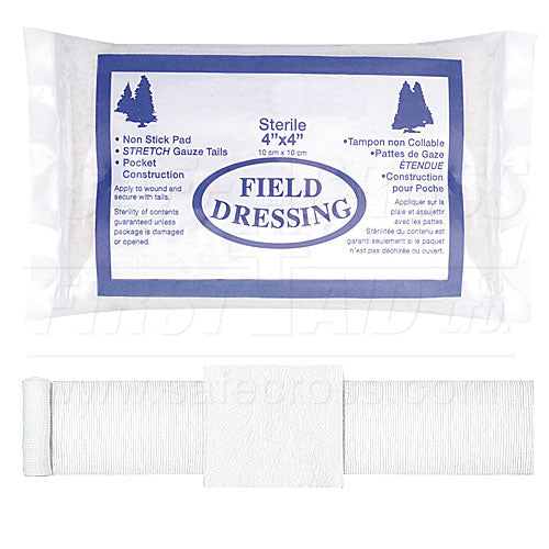 Bandage - Compress Field Dressings - Sterile 4