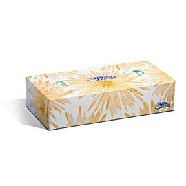 FACIAL TISSUE WHITE 2PLY 100/BOX