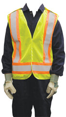 CSA Safety Vest Lime Green