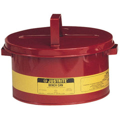 10575 2 Gallon Justrite Bench Can
