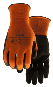 397X6 Stealth Heavy Artillery Latex Coated Glove (6/pkg)