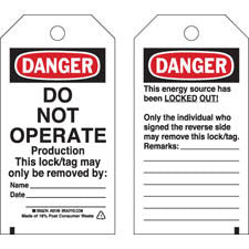 50250 Lockout Tags (25)