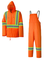 5598 Hi-Viz Orange Rainwear CSA Z96-09