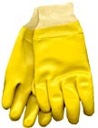 6100Y Yellow PVC Glove