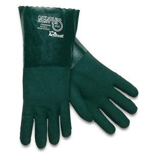 Green PVC Gloves