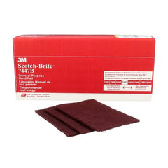 Scotch-Brite™ General Purpose Hand Pad, 7447B, Maroon (each)