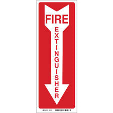 FIRE EXTINGUISHER ARROW SIGN 85261