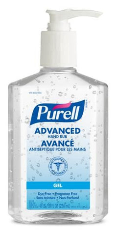 9652-12-CAN00 Purell ® Hand Sanitizer 8 oz.