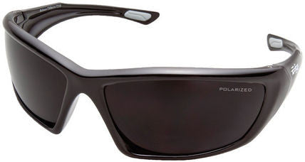 TXR416 Edge Eyewear - Robson Black/Polarized Smoke Lens