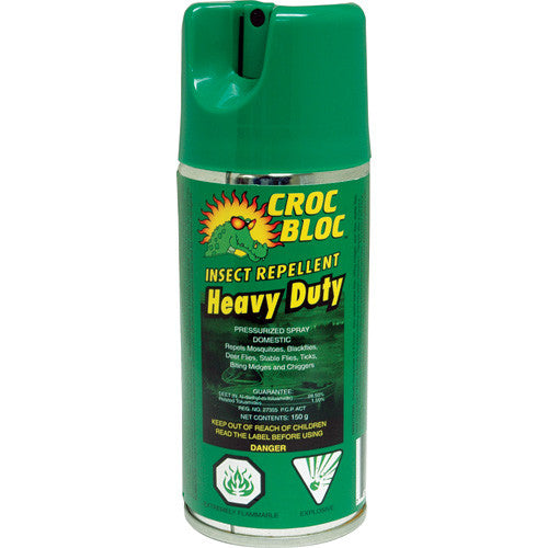 Croc Bloc Insect Repellent 150g Can
