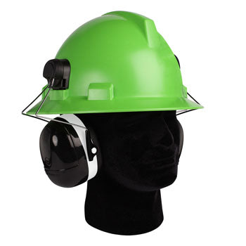NP119 Hard Hat Mounted Ear Muffs for Full Brim Hard Hat