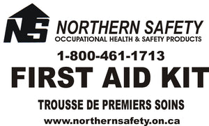"First Aid Kit ""Ontario"" 6-15 Workers Metal Section 9-1 (#413)"