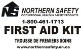 "First Aid Kit ""Ontario"" (TFB) Transportation, Farm & Bush Section 16-(1)(2)&(6) (#408)"