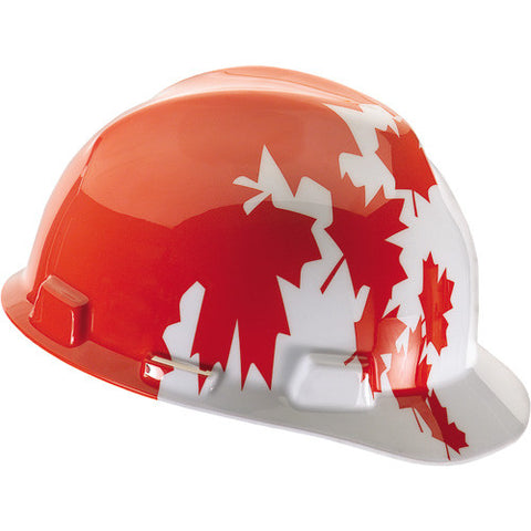 10050613 MSA Maple Leaf Hard Hat