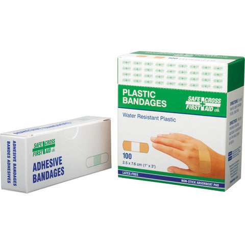Plastic Bandages (100/Box)