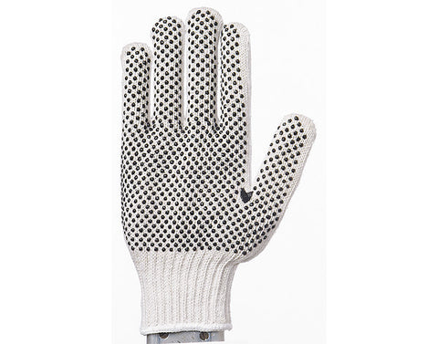 SQD Cotton/Poly Dotted Gloves