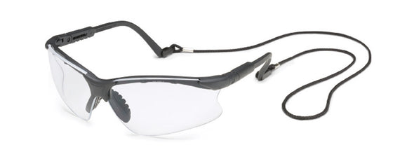 Scorpion® Black Frame Clear Lens